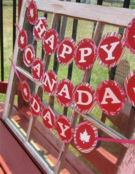 Outdoor Decorations Canada by Canada Day 2014 One Nana
