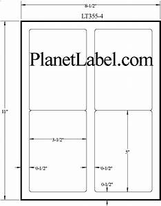 2 x 5 label template printable label templates With 4 x 2 5 label template