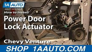 How To Replace Door Lock Actuator 97