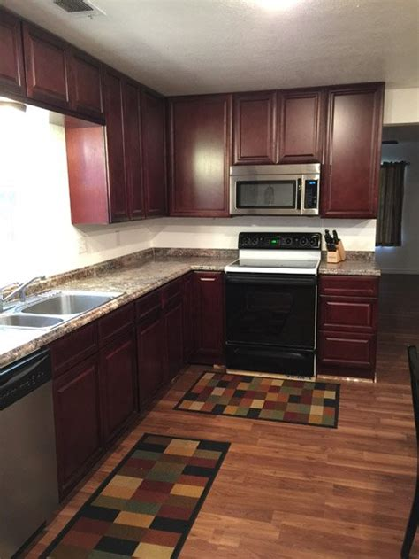 buy cherry glaze kitchen cabinets