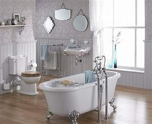 Freistehende Badewanne An Der Wand : 27 richtig tolle bilder von vintage bad ~ Bigdaddyawards.com Haus und Dekorationen