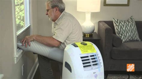 install portable air conditioner youtube