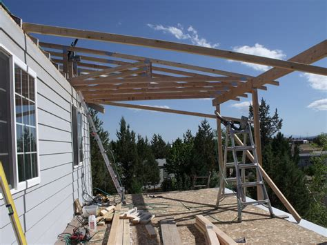 porch roof add michael r construction