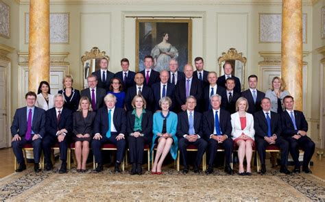 The Government Cabinet - quiz how many members of theresa may s cabinet can you