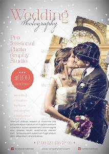 wedding photography flyer template by grafilker graphicriver With templates for wedding photographers
