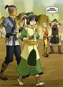 the Rift -Aang, Sokka and Toph - Avatar: The Last ...
