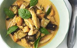 Thai red chicken curry recipe | FOOD TO LOVE
