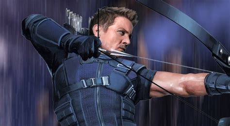 Avengers Infinity War Hawkeye Quest For The