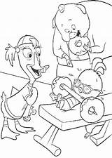 Coloring Donut Chicken Lifting Weight Heavy Snoopy Donuts sketch template