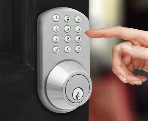 keyless door entry keyless door lock milocks electronic touchpad keypad