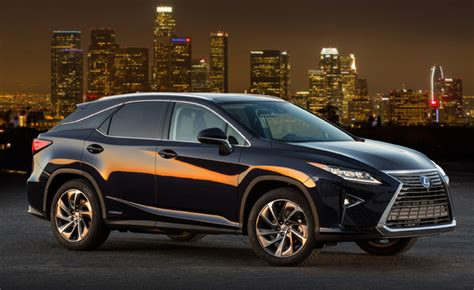 2018 Lexus Rx 450h Gets A Significant Price Cut, Less
