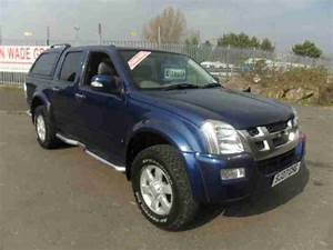 Isuzu Rodeo 4x4 Diesel Manual 4 Door Leather Snug Top