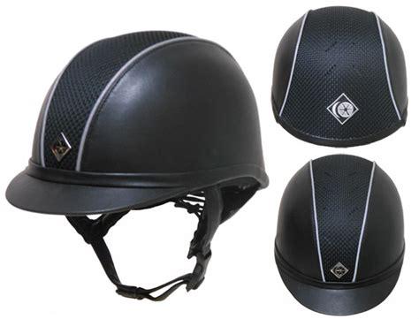 Charles Owen AYR8 Leather Look Helmet Custom Colors