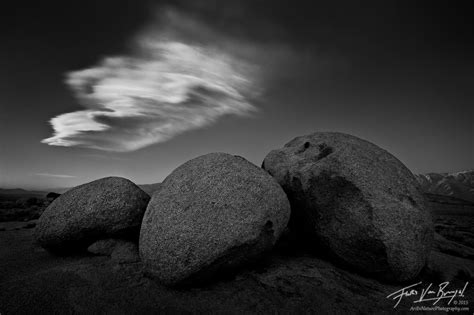 Sleeping Stones  Alabama Hills, Ca  Art In Nature