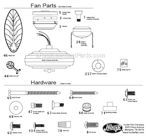 hunter ceiling fans replacement parts hunter fan light parts list pictures to pin on pinterest