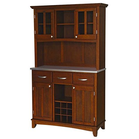 Buffets With Hutch - home styles aspen rustic cherry buffet 5520 61 the home