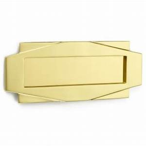 art deco letter box british ironmongery With art deco letter box