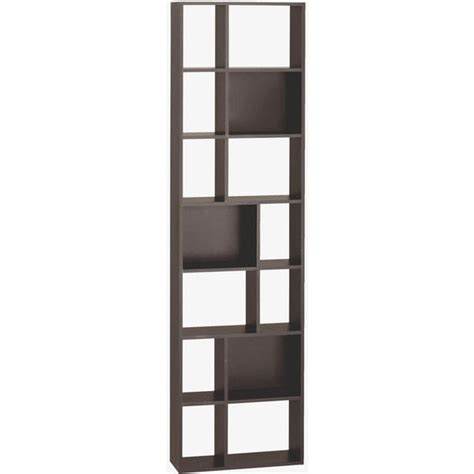 Thin Bookcase cleo black narrow bookcase furniture