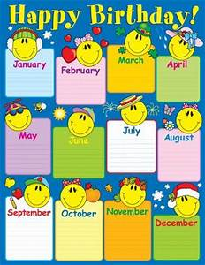 60 best classroom emoji theme images on pinterest With birthday chart template for classroom