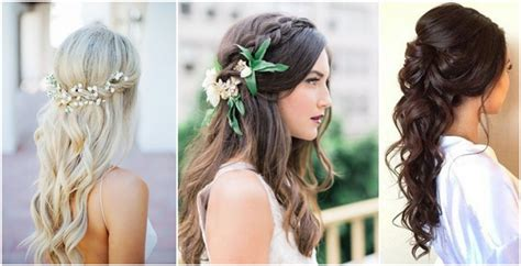 22 Half Up And Half Down Wedding Hairstyles To Get You