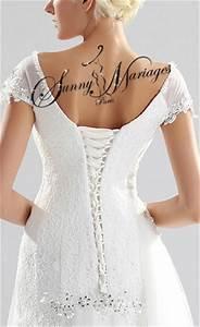 Robe Mariée Courte Pas Cher : robe de mariee empire simple et originale en mousseline fluide sunny mariage ~ Mglfilm.com Idées de Décoration