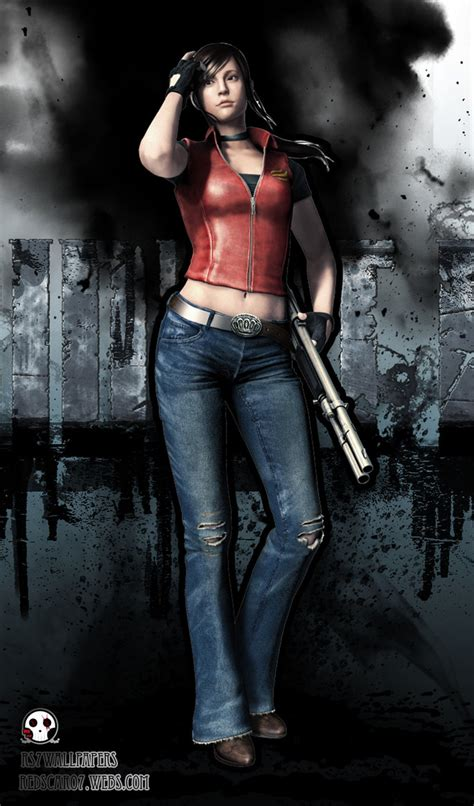 Resident Evil Claire Redfield Wallpaper Wallpapersafari