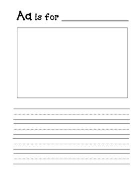 abc book template blank abc book template by a smith teachers pay teachers