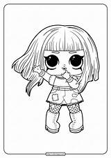 Lol Coloring Pages Printable Dolls Surprise sketch template