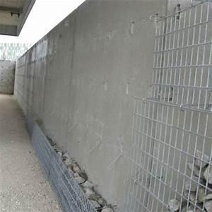 Mur En Béton : mur b ton parement gabion mur parement gabion chapsol ~ Melissatoandfro.com Idées de Décoration