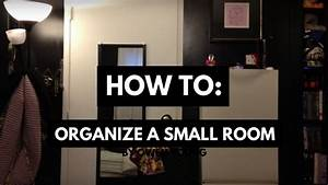 How to organize a small room (when you have a lot of stuff