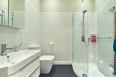 georgian family home phase  contemporary bathroom