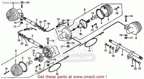 1977 Honda Ct70 Wiring Schematic by Honda Ct70 Trail 70 1977 Usa Turn Signal K3 79 Buy Turn