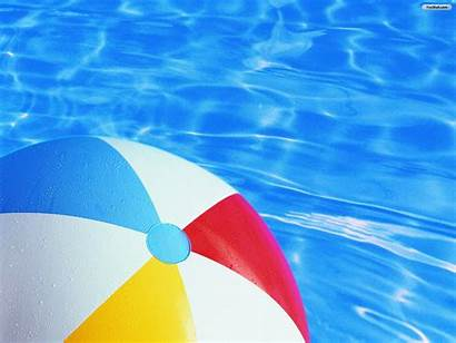 Pool Ball Beach Summer Swimming Wallpapers Water