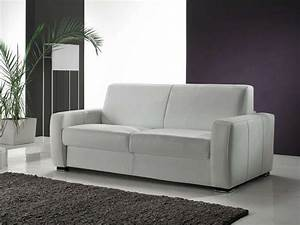 soldes canape conforama achat canape convertible cuir 2 With canapé cuir convertible 2 places conforama