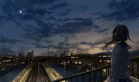 City Anime Wallpaper - anime city www pixshark images galleries