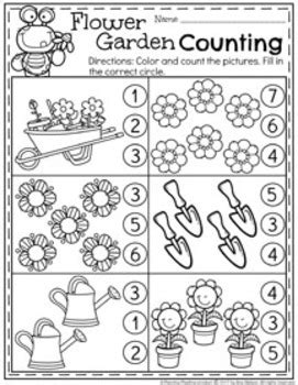 Preschool Worksheets - May by Planning Playtime   TpT