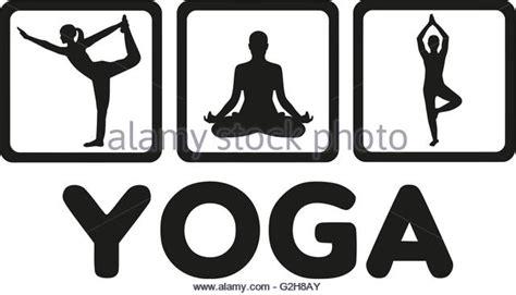 Yoga Poses Illustration Stock Photos & Yoga Poses