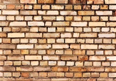 Brick Clipart Brick Wall Detail Texture Vector Illustration Of