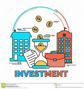 Infographic Elements For Investment. Stock Illustration ...