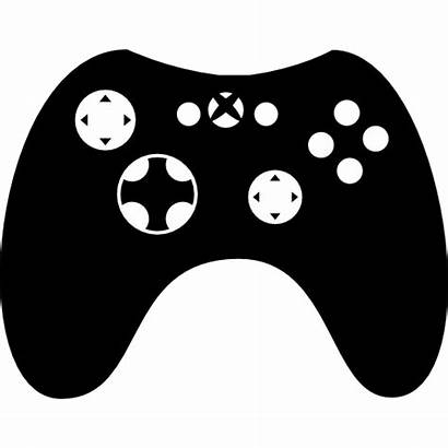 Controller Svg Xbox Silhouette Transparent Icon Background