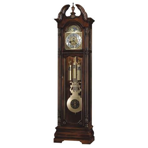 Howard Miller Ramsey Floor Clock Cherry 611084 Grandfather ...