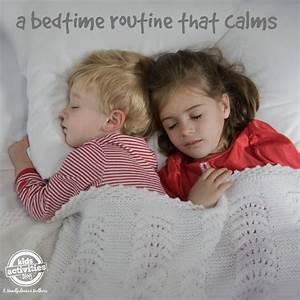 New and Calm Bedtime Routine