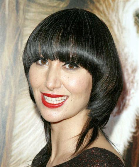 Karen O Long Straight Alternative Hairstyle