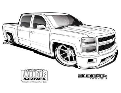 crewd coloring page coloring book hot rod designs  studio pck truck coloring pages car