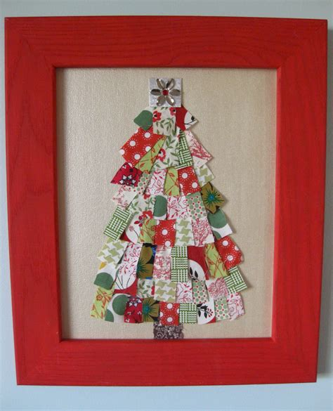 handmade scrap fabric tree tutorial