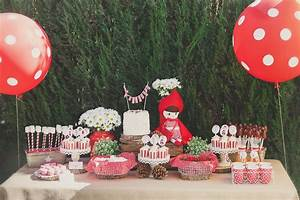 A Little Red Riding Hood Birthday Party - The Sweetest