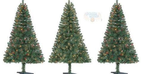 6' Pre-lit Christmas Trees Only