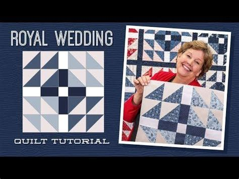 make a quot royal wedding quot quilt with missouri quilt company youtube quilting