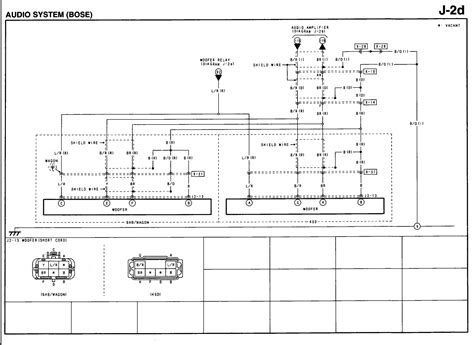 2012 Murano Bose Wiring Diagram by I A 2004 Mazda 6 With The Bose Audio System The