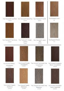 Trex Transcend Decking Colors by Color Trex Composite Decking Trex Introduces Two New